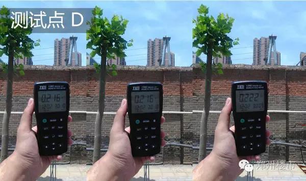 变电站电磁感应强度测试点D